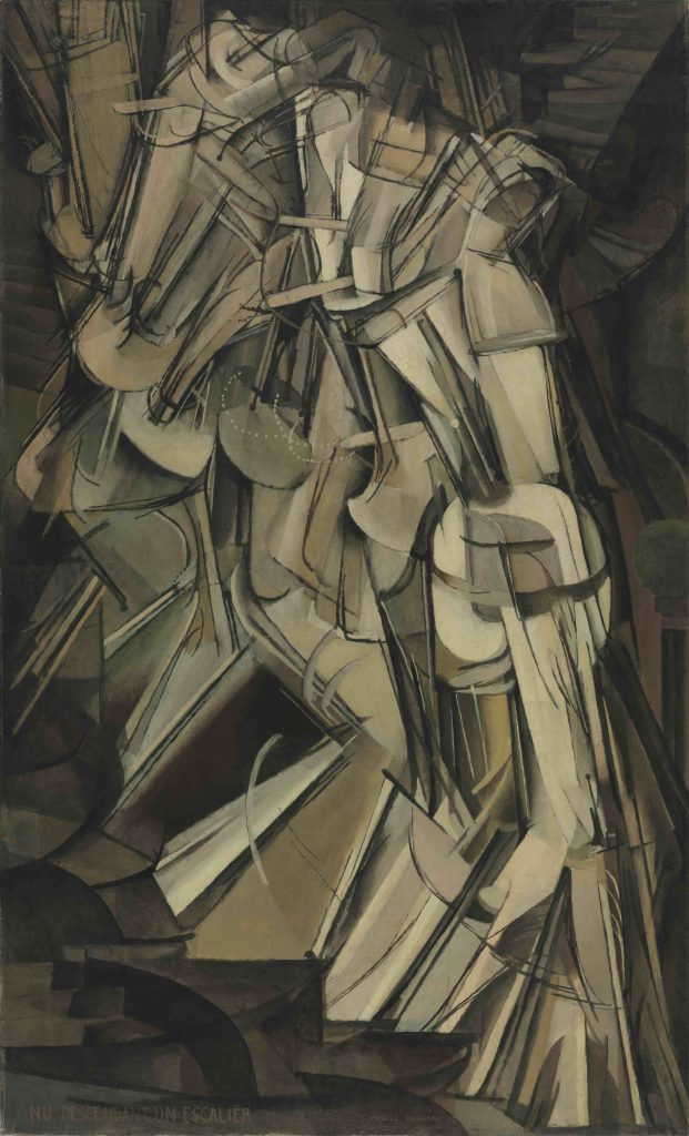 Duchamp - Nude Descending a Staircase